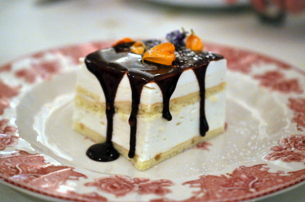 Medovic traditional russian honey cake